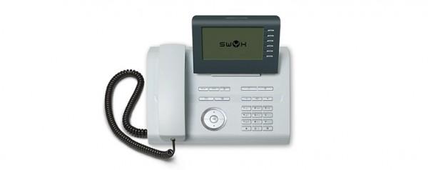 Swyx Phone L640 iceblue Systemtelefon Telefon Swyxphone L 640 ice blue