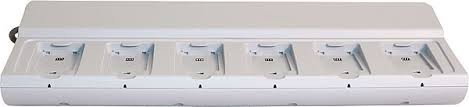 Unify OpenStage WL3 Rack-Ladegerät für 6 Batterien, erfordert Netzleitung 1507241