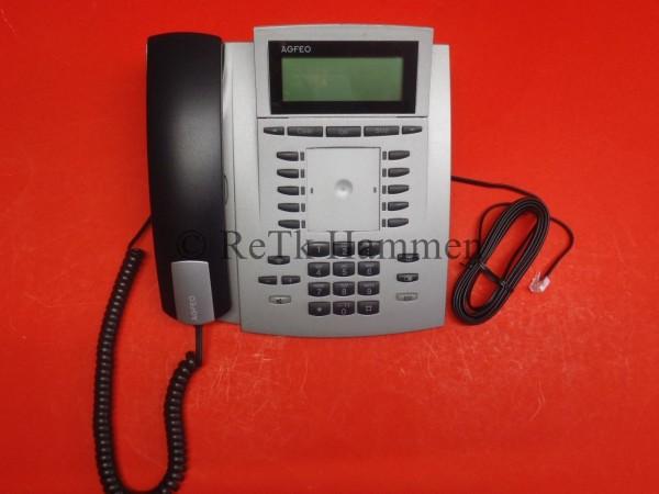 Agfeo ST21 ST 21 silber Telefon Anlagentelefon für UP0 Systemtelefon