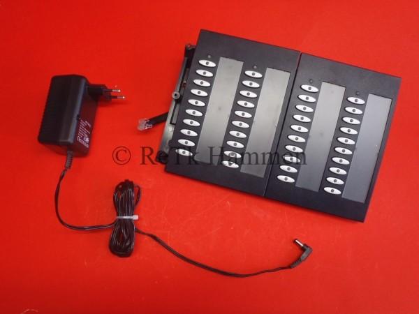 2x ELMEG Funkwerk T400 T 400 Tastenerweiterung für CS410 inkl Netzteil