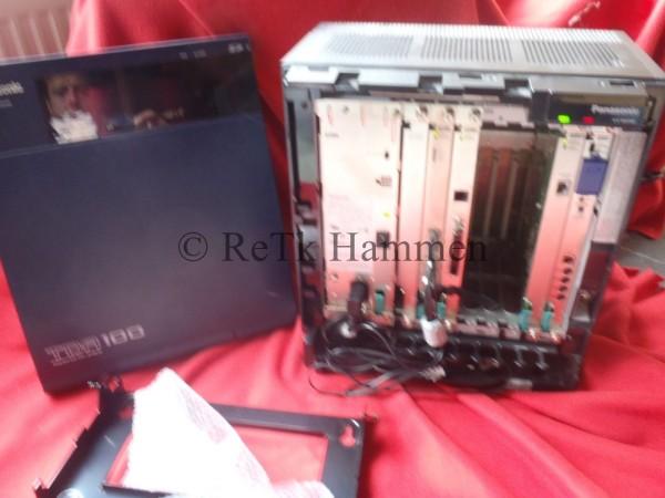 Panasonic KX-TDA100NE Telefonanlage TK Anlage Hybrid IP-PBX KX-TDA