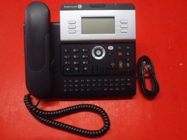 Alcatel 4029 urban grey Systemtelefon für Telefonanlage Re_MwSt Telefon schwarz