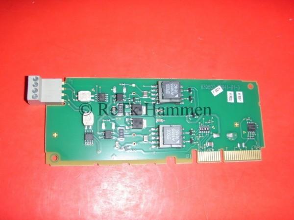MPXU Modul Erweiterung f Siemens HiPath 1220 2x UP0 Systemtelefon digit