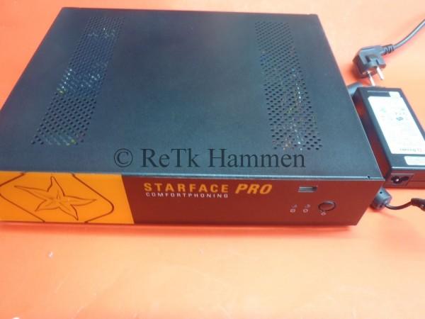 Starface Pro 4S0 IP VoIP Telefonanlage Rechnung mit ausg.MwSt TK-Anlage Internet
