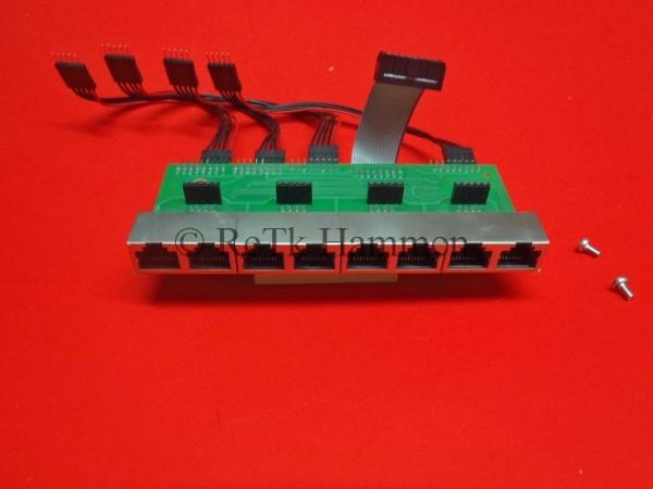 ELMEG Frontmodul ICT880 Rack Anlagen Anschlußfeld ICT 880XT 880 Patch