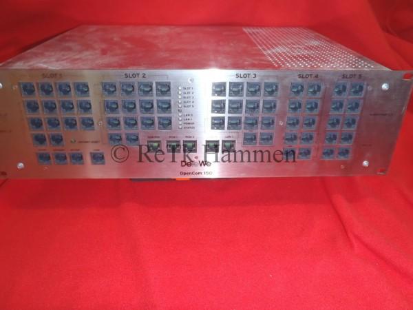 Aastra DETEWE Opencom 150 Telefonanlage RACK 19´´ 48,3cm 19 Zoll