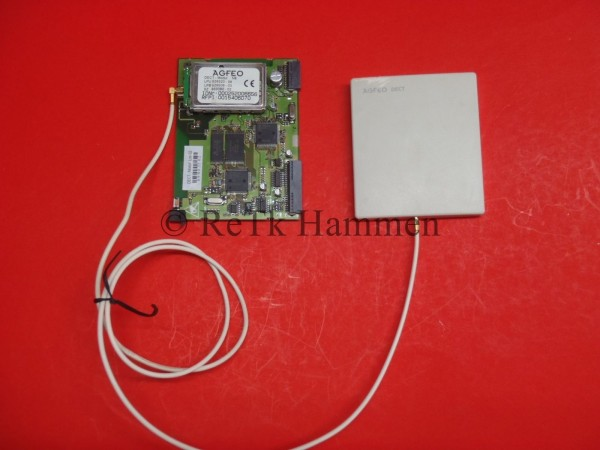 Agfeo DECT Modul AS40P mit Antenne AS 40 P AS 40P AS100 IT AS 100IT