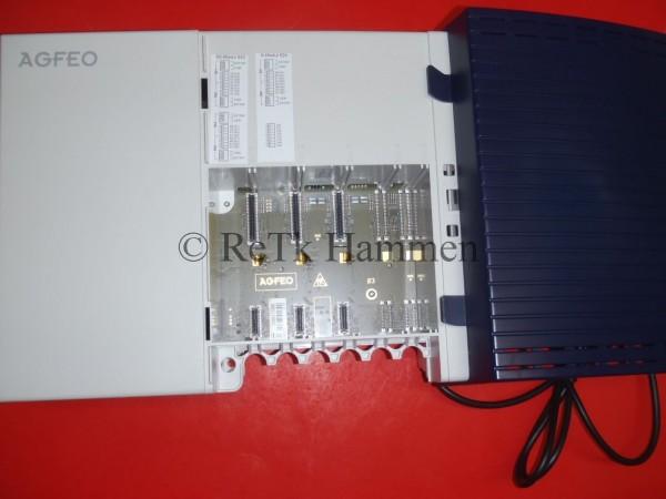 Agfeo Telefonanlage AS43 TK-Anlage AS 43 ISDN TK Anlage ohne Module ISDN